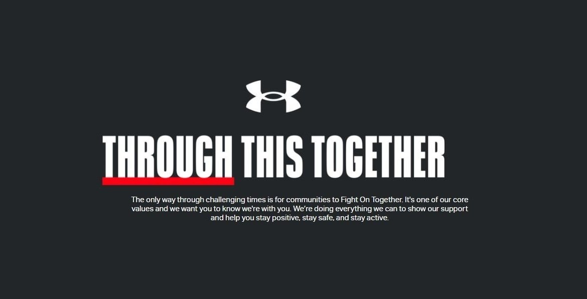 Under Armour US Through This Together