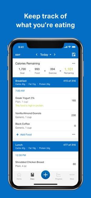 myfitnesspal fitness apps